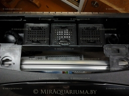 Встроенный в крышку аквариума Aqua4Home 60 фильтр.