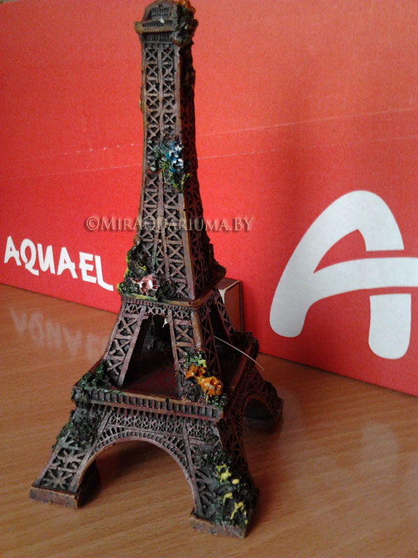 Эйфелева башня - декор аквариума фото
