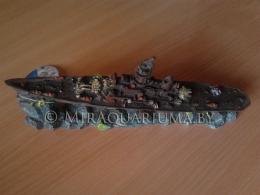 Penn-Plax - Корабль, линкор, код RR932