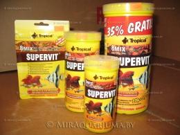 Серия кормов SUPERVIT от Tropical