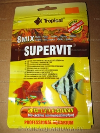 Пакет с кормом Tropical SUPERVIT