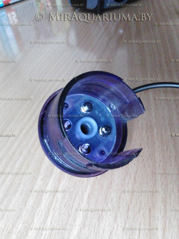 Стерилизатор для аквариума AQUAEL UNI UV - рабочая часть
