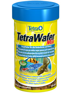 Корма tetra для ракообразных и донных рыб