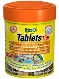 Корм для рыб в таблетках от компании Тетра.