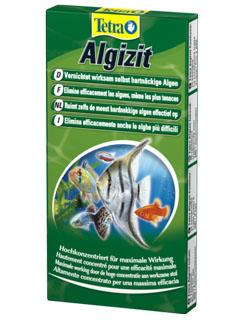 Водоросли в аквариуме, средство борьбы - Tetra Algizit.