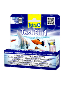 Экспресс тест для анализа воды Тетра 6 в 1