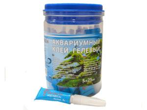 Клей для аквариумов водостойкий