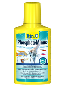 Tetra PhosphateMinus - кондиционер для аквариума, снижение фосфатов в воде